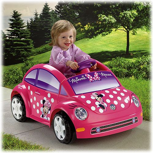 Power Wheels® Disney Minnie Mouse Bow-tique Volkswagen® New Beetle