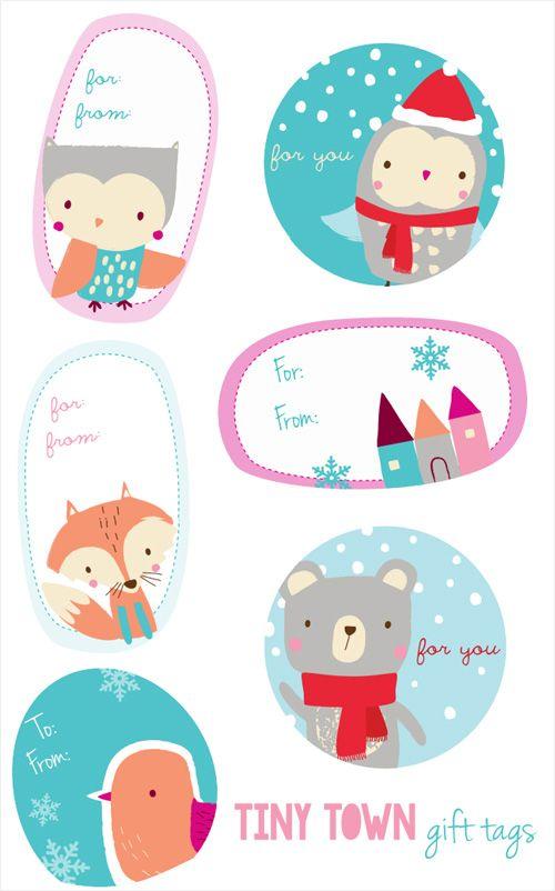 11 Printable Christmas Gift Tags