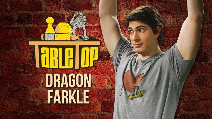 TableTop: Wil Wheaton Plays DRAGON FARKLE with Brandon Routh, Derek Mio,...