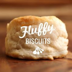 For deliciously flaky White Lily® Light and Fluffy Biscuits, use self-rising flour and avoid adding too much additional flour when kneading and rolling.
