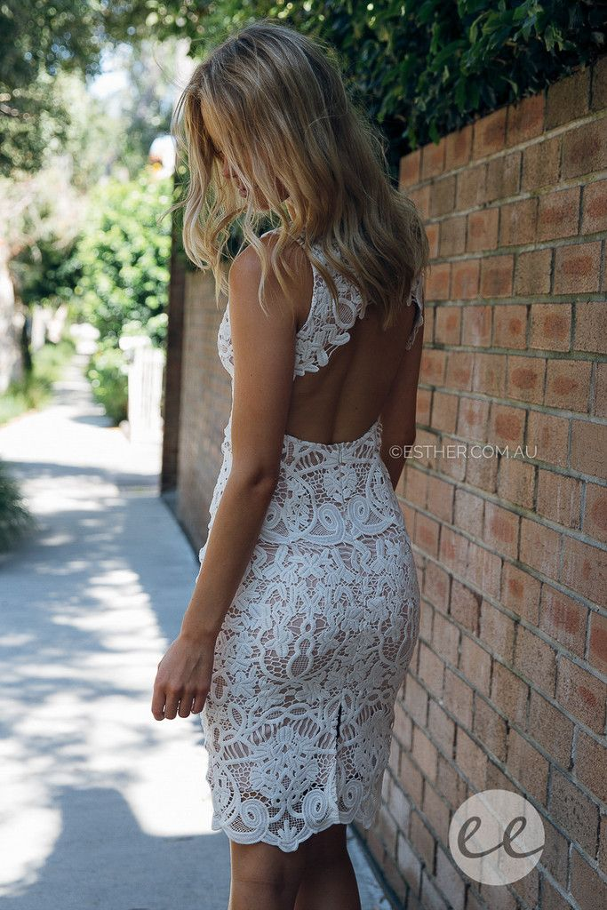 mia lace dress - ivory | Esther clothing Australia and America USA, boutique online ladies fashion store, shop global womens wear worldwide, designer womenswear, prom dresses, skirts, jackets, leggings, tights, leather shoes, accessories, free shipping world wide. – Esther Boutique