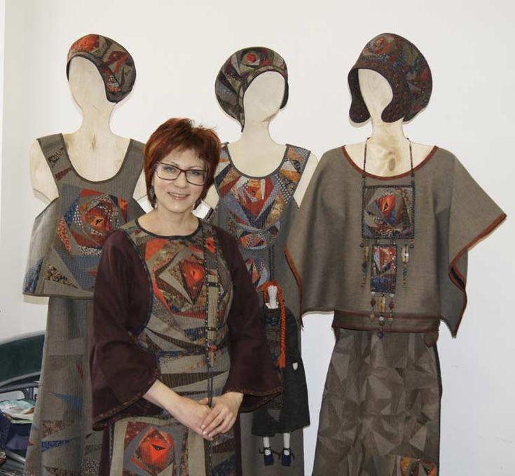 Kseniya Dmitrieva - designer of patchwork style clothes