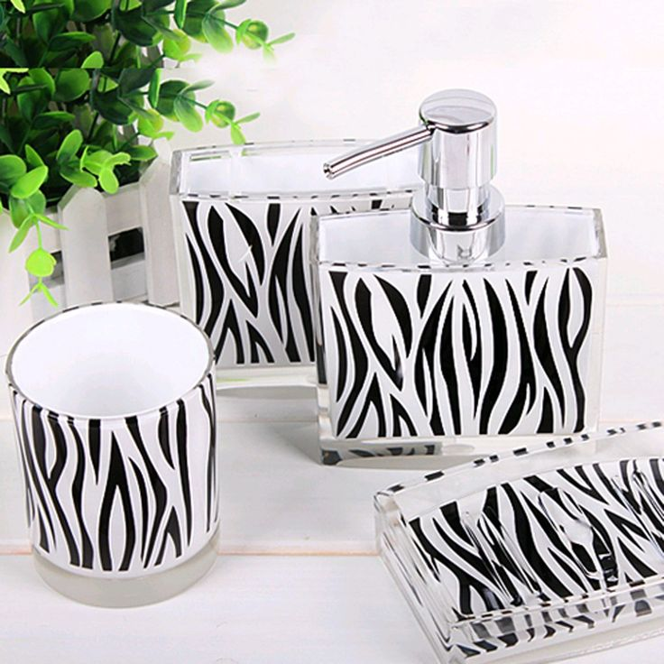 Bathroom Accessories Decor best 25+ zebra bathroom decor ideas on pinterest | zebra bathroom