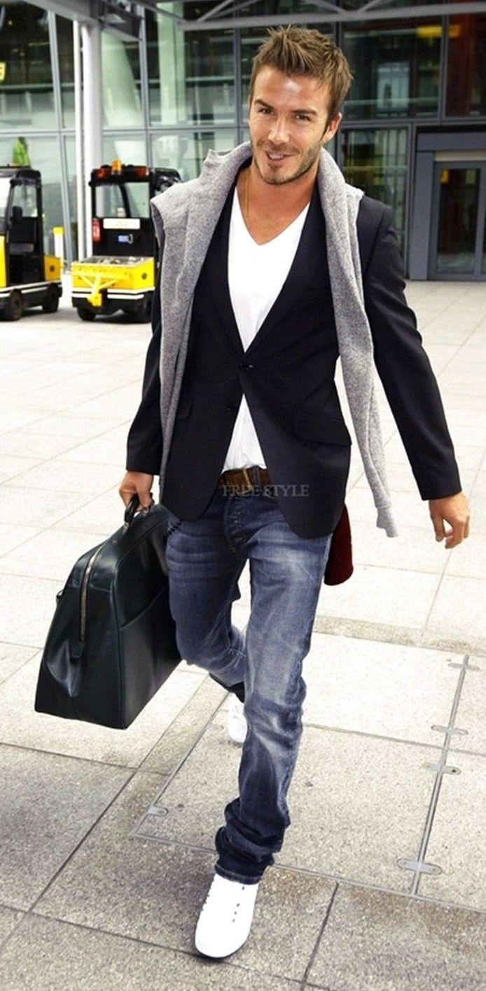 Help me find a similar blazer as David Beckham's