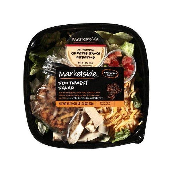 Marketside Southwest Salad, 17.75 oz Walmart.com ($3.98) ❤ liked on Polyvore featuring food and food & drink