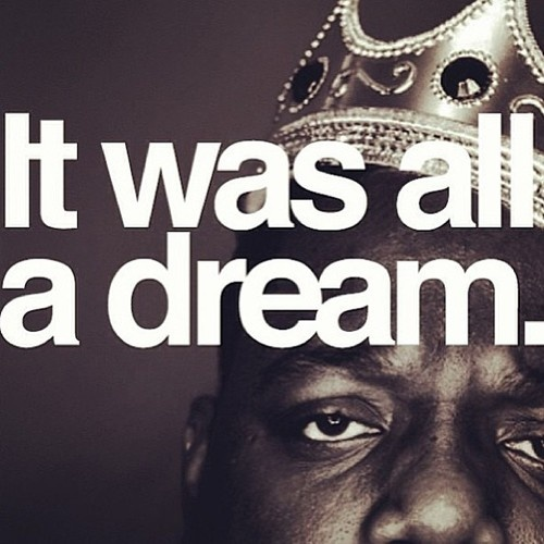 it was all a dream! I used to read Word Up! magazine, Salt n' Pepa and Heavy D up in the limousine...