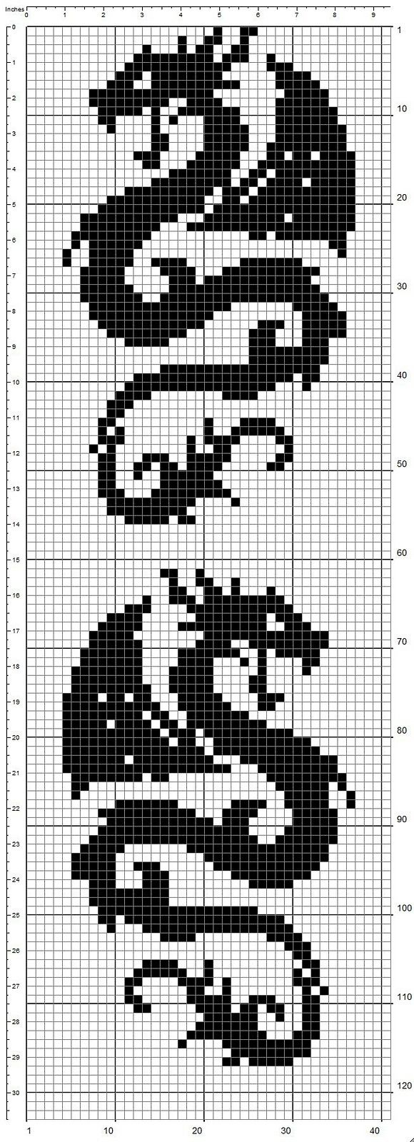 snowflake cross stitch patterns - Google Search
