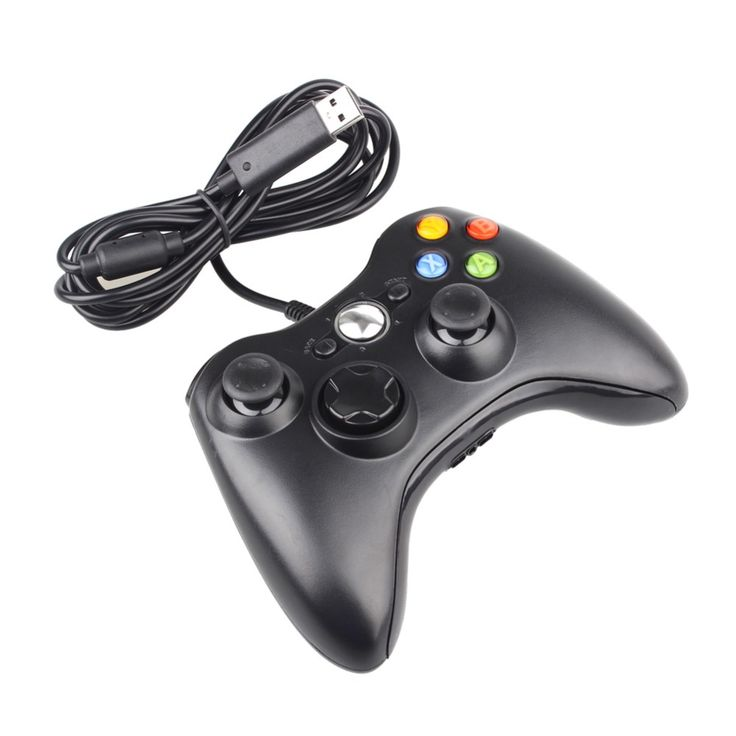 >> Click to Buy << Top Sale USB Wired Joypad Gamepad For Microsoft Xbox 360 Console Wired Controller Black White For XBOX 360 PC Win 7 #Affiliate