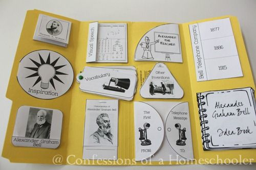 Alexander Graham Bell Unit Study | Confessions of a Homeschooler