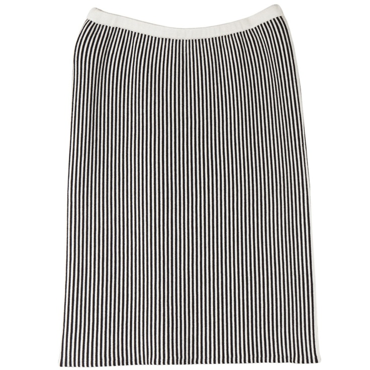 Arelalizza striped skirt