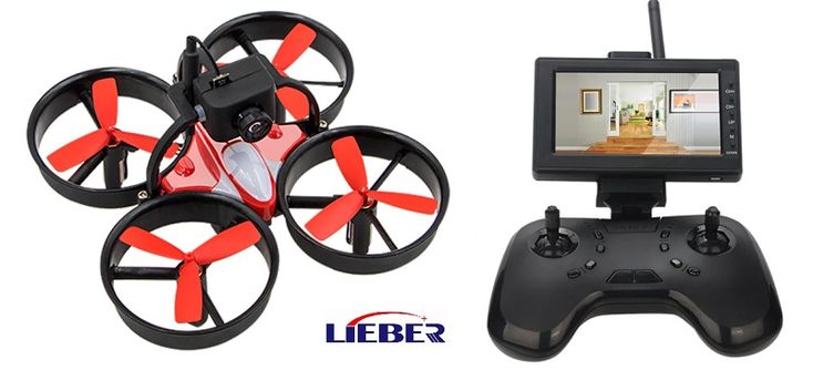 Lieber Birdy 1060 mini drone with 5.8G FPV monitor under $100. Featuring ducted propellers, the Birdy-1060 FPV quadcopter is very safe for indoor flights.