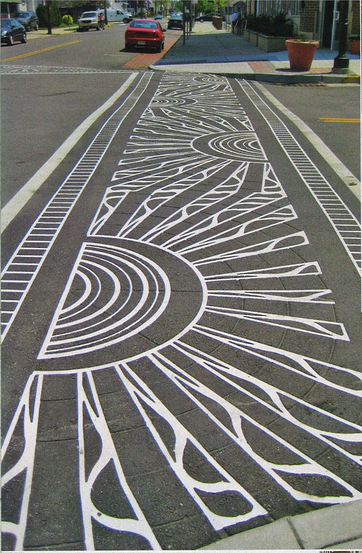 decorative crosswalk