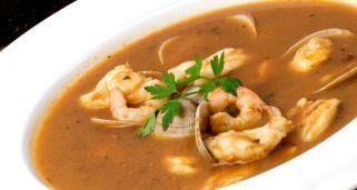 Receta de Sopa de pescado con rape