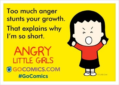 Angry Little Girls on #GoComics | #comics #funnies #ecards #girls