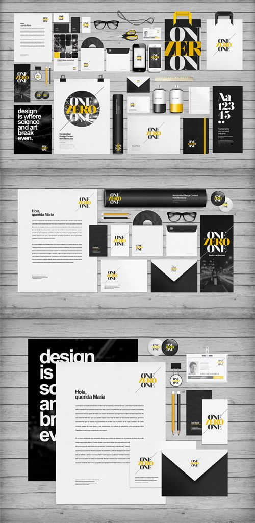 Flat Identity Branding Mockup Templates » Free Hero Graphic Design: Vectors AEP Projects PSD Sources Web Templates – HeroGFX.com