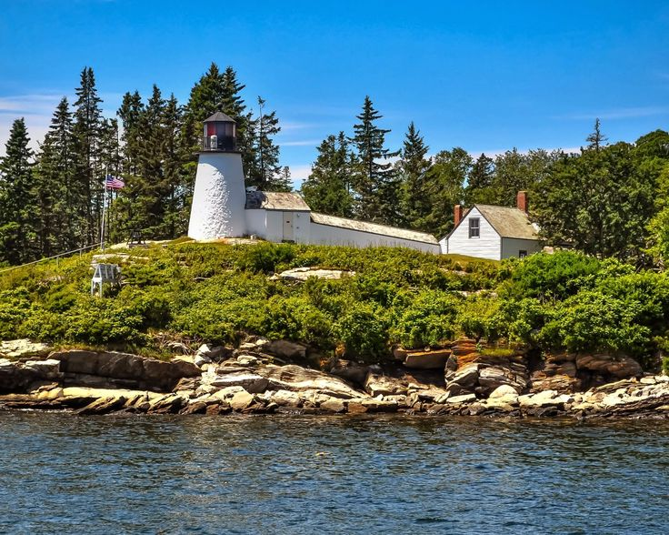 Maine Lighthouses and Beyond: Burnt Island Lighthouse