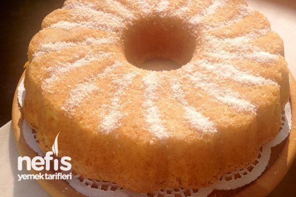 Hindistan Cevizli Portakallı Pastane Keki
