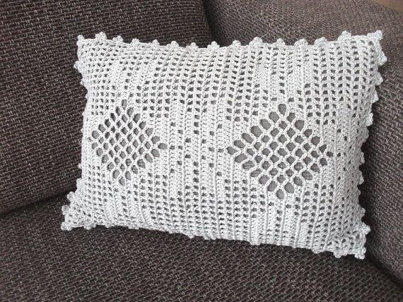 PDF Crochet Pattern Very Romantic Cushion door BlageCrochetDesign