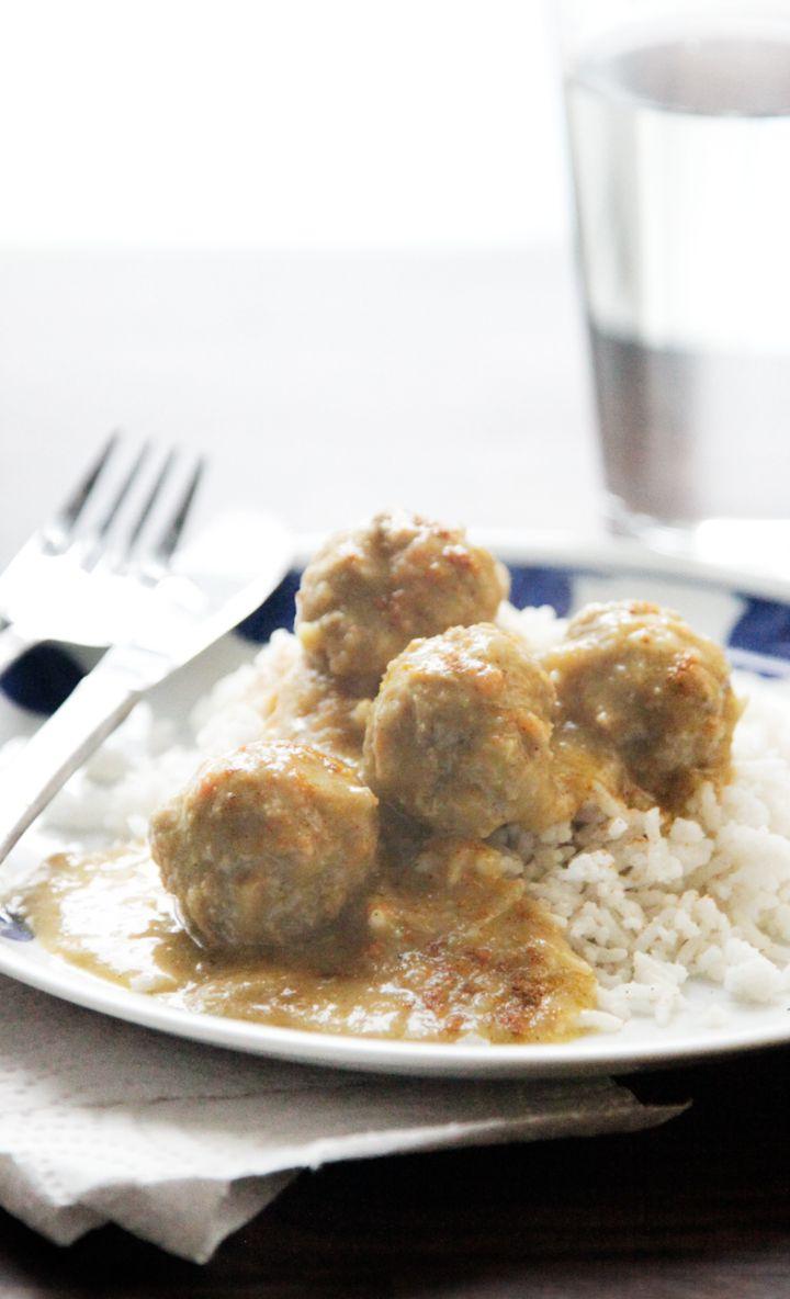 Curried meatballs_Boller i karry