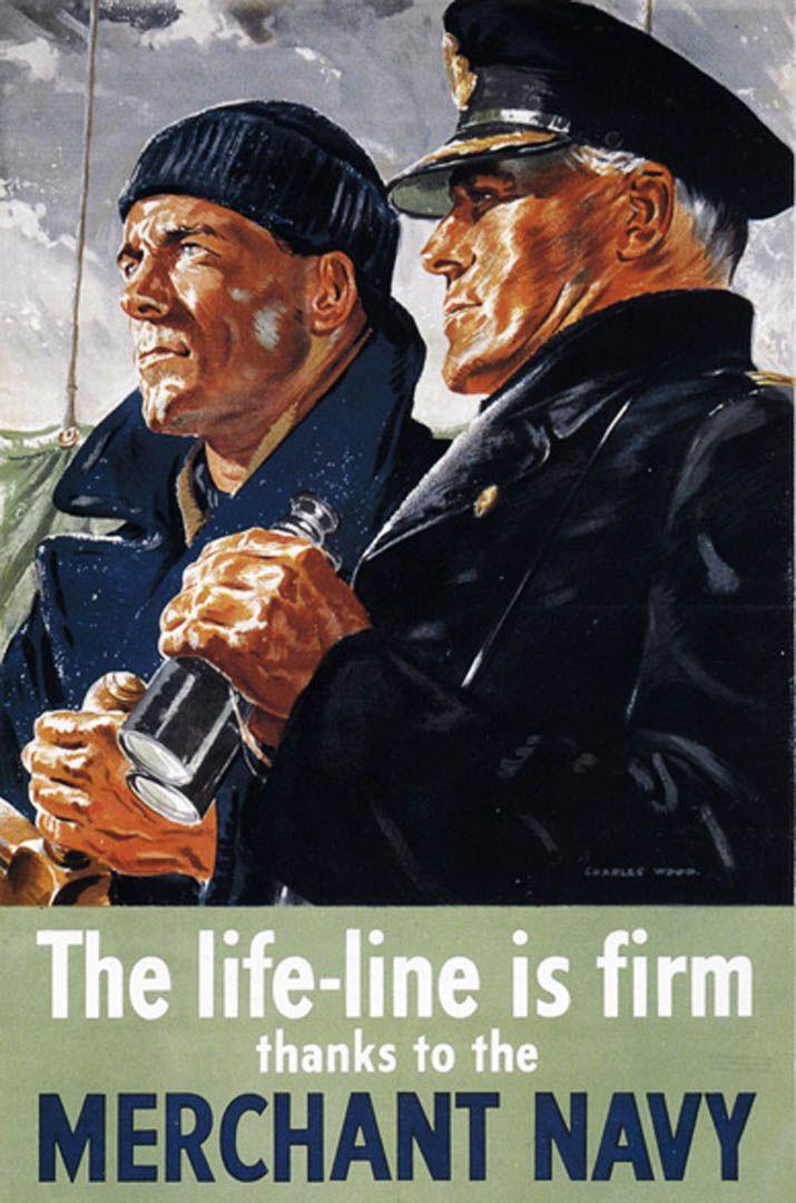 Merchant Navy. We will remember them