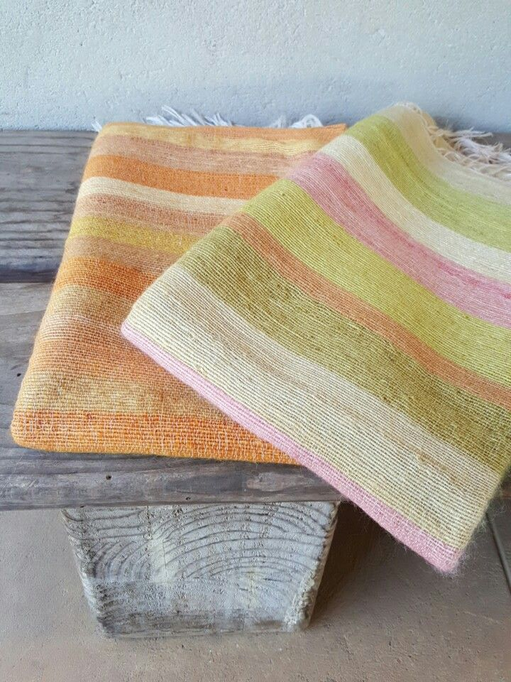 Pretty colors mohair blankets