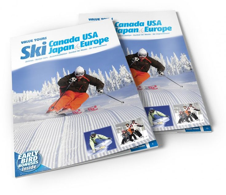 Value Tours - Ski Canada USA Japan & Europe brochures