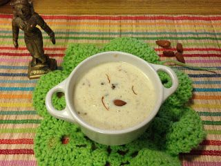 vegfood: Kuthiraivali rice payasam/ Barnyard millet Kheer