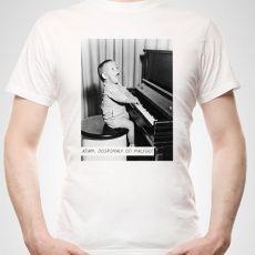 Koszulka personalizowana męska DUŻA FOTKA idealny na urodziny