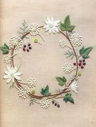 Resultado de imagen para bordados flores patrones