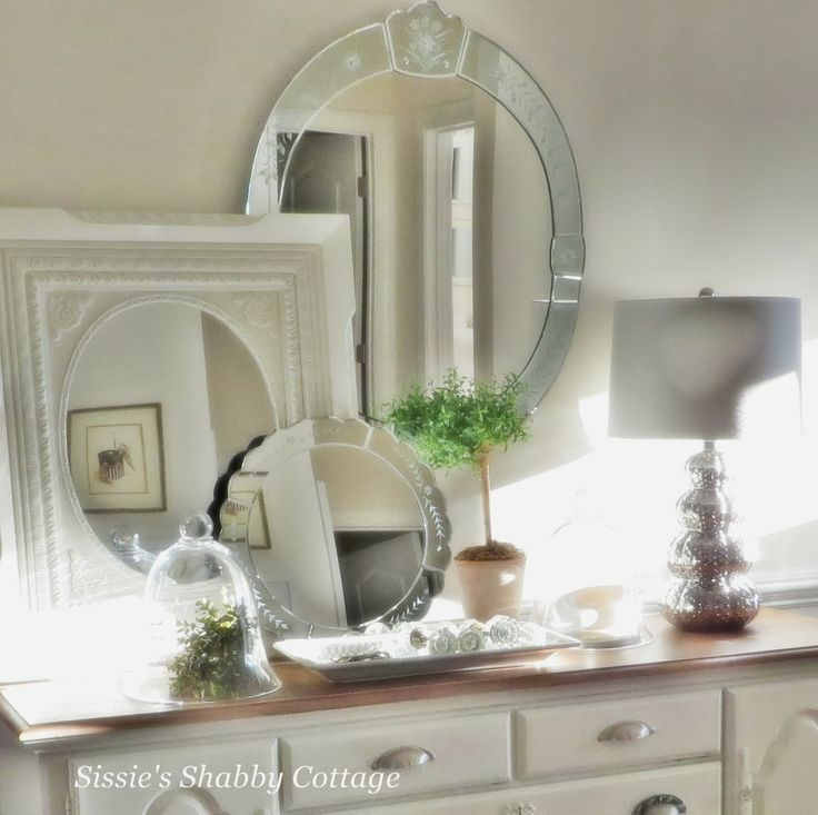 70 best Mirrors, Lovely Mirrors images on Pinterest Bedroom - shabby bad