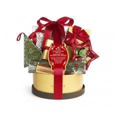 GODIVA Christmas Gift Basket