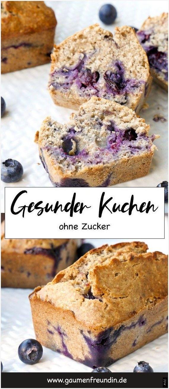 Healthy Cake With Blueberries And Chia Seeds In 2020 Gesunde Kuchen Heidelbeeren Kuchen Kuchen Ohne Zucker