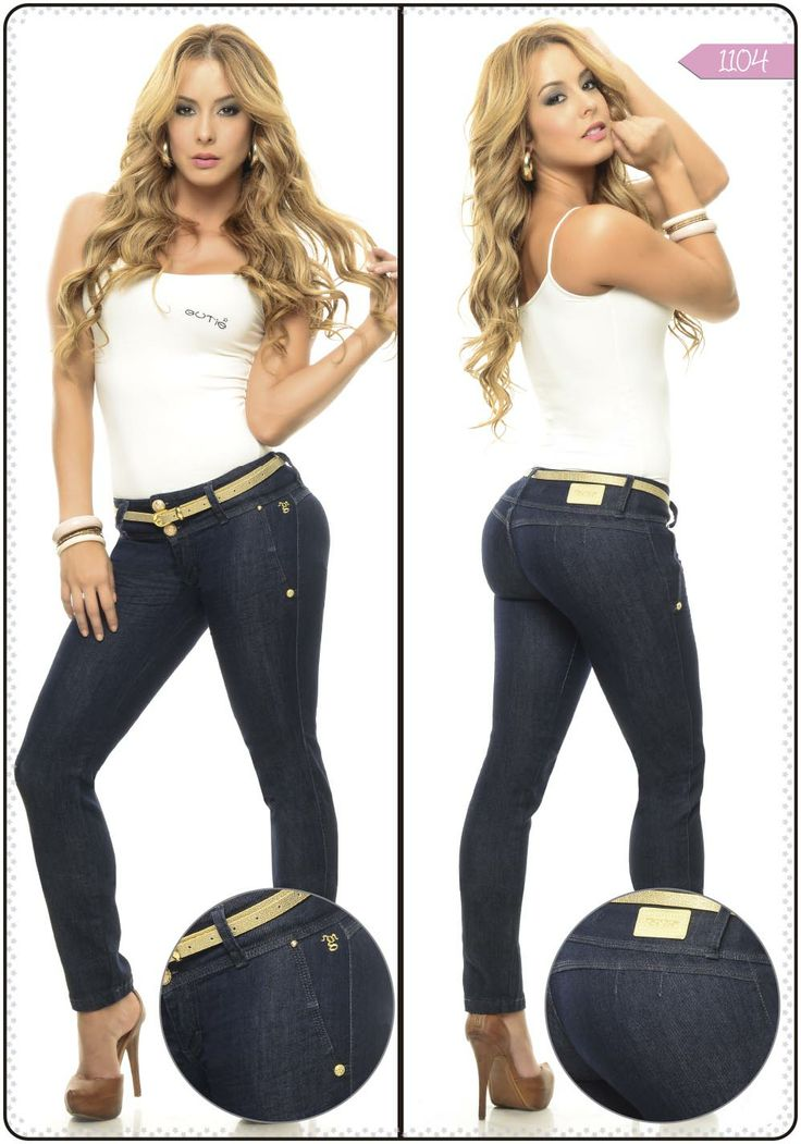 Jeans bota tubo referencia 1104 - Sexy, yet Casual #Fashion #sexy #woman #womens #fashion #neutral #casual #female #females #girl #girls #hot  #hotlooks #great #style #styles #hair #clothing  www.ushuaiajean.com.co