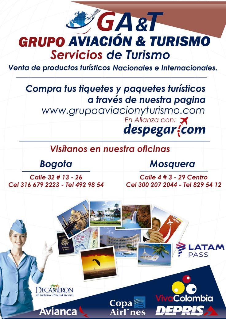 Escribenos  al whatsapp  +3166792223 o Visitanos en nuestras oficinas en Bogota y Mosquera www.grupoaviacionyturismo.com