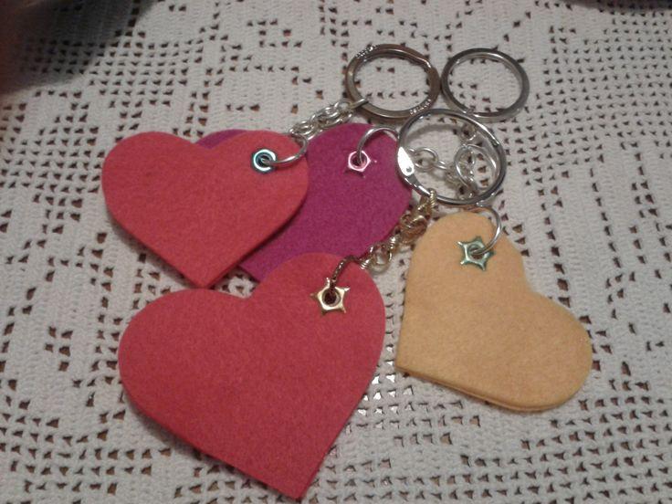 Porta chiavi per San Valentino