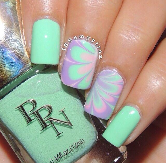 Mejores 17 imágenes de Uñas en Pinterest | Decoración de uñas ...
