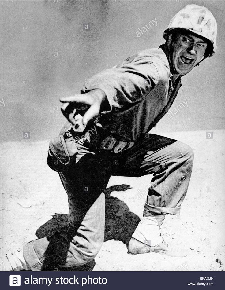 John Wayne Sands Of Iwo Jima (1949 Stock Photo, Royalty Free Image: 30963033 - Alamy