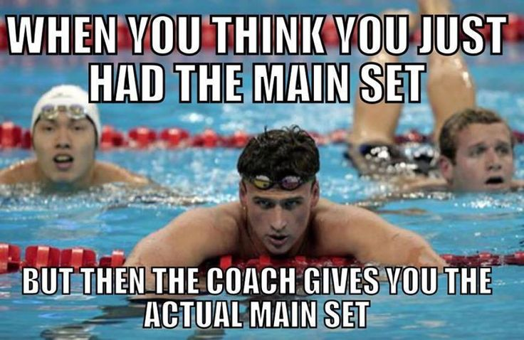 """@SwimShop_UK: How very true! #swimmers #SwimmingMoments ""... and the lifeguard tells you to Get Off The Lane Ropes!"