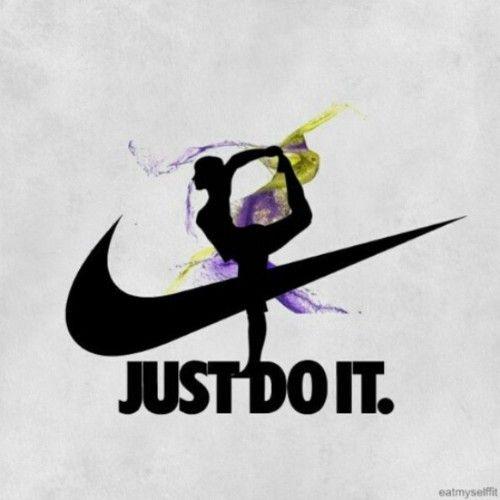 Just do it. #Gymnast #Gymnastics #Nike