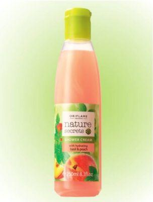 Basil&Peach Natural Secrets Duschcreme Feuchtigkeits-Duschcreme mit einem wunderbar frischen Sommerduft. 250 ml Nr. 25178 #Duschcreme #Basilikum #OriflameGermany