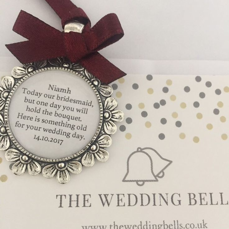 Lots of people contacting us about these bridesmaid charms. The role can be what you want and in any language or ribbon colour. They make lovely keepsake gifts for your boxes. #bridesmaid charm #bridesmaid gift.