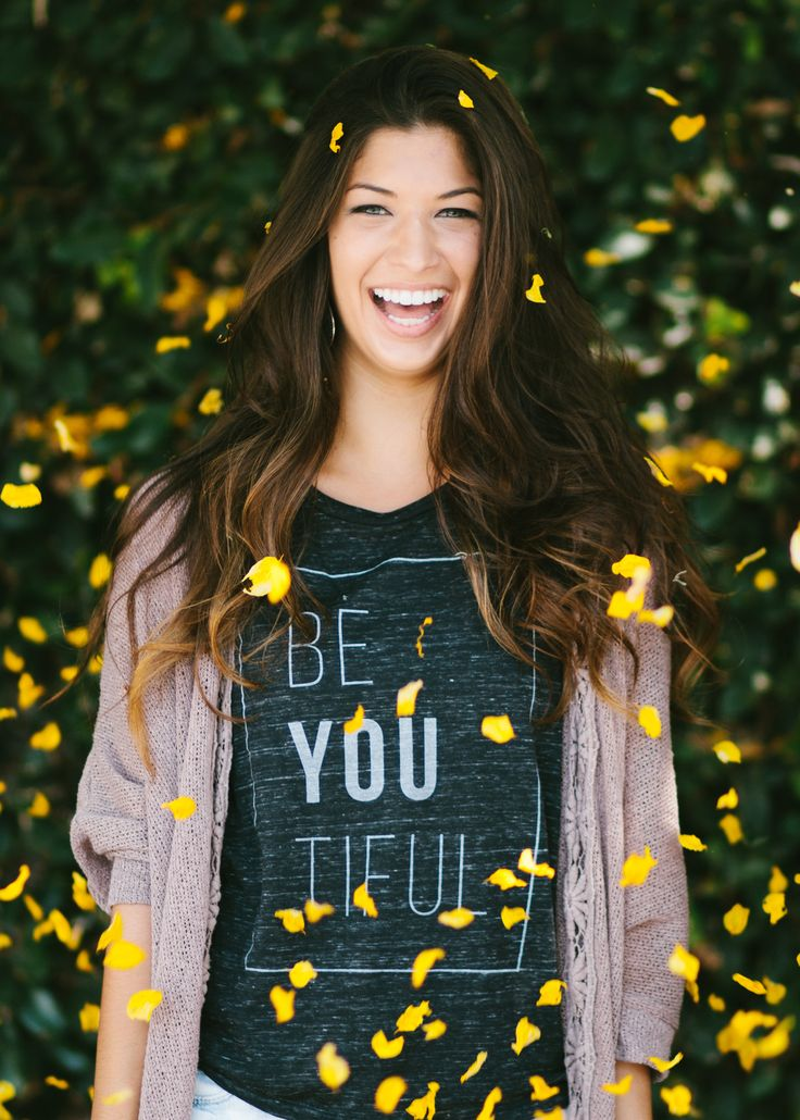 The number one rule on fashion: BE YOURSELF! be-YOU-tiful :) #Sevenly #GiveBack