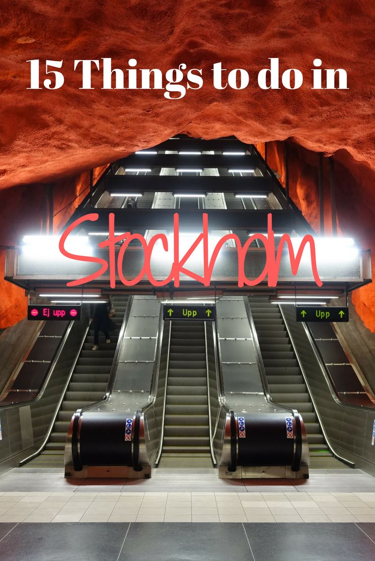 Being on a budget should not mean having any less fun in Stockholm! Here's 15 things to do over 3 days for a great time while sticking to your budget. #stockholm #travel #sweden #budget #scandinavia #europe #metro #subway #underground