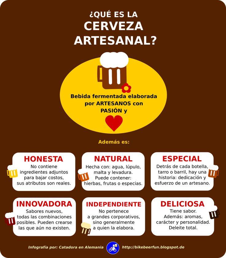 ¿Qué es la cerveza artesanal? Algo concreto... http://bikebeerfun.blogspot.de/2014/10/que-es-la-cerveza-artesanal-algo.html http://bikebeerfun.blogspot.de