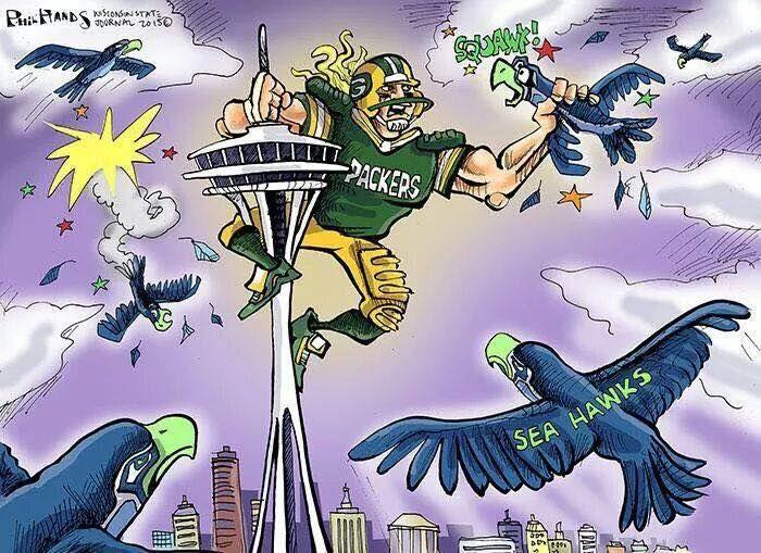Packers vs Seahawks 2015
