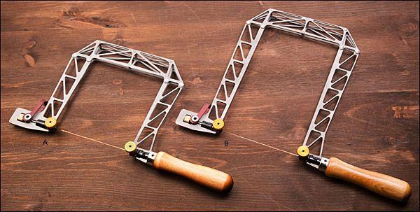 Knew Concepts Titanium Fret Saws - Lee Valley Tools