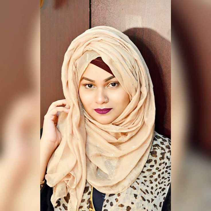 Simple Volume Layered Hijab Tutorial by Tabassum