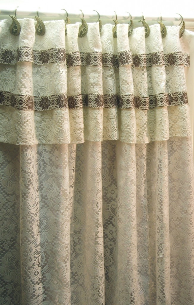 How To Make Shower Curtain With Absolutely No Sewing Www