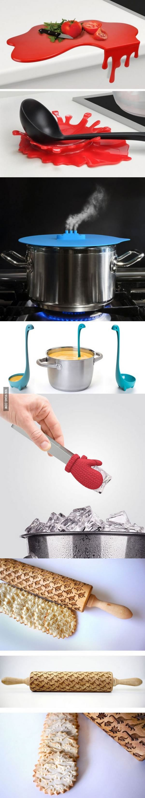 Creative kitchen gadgets