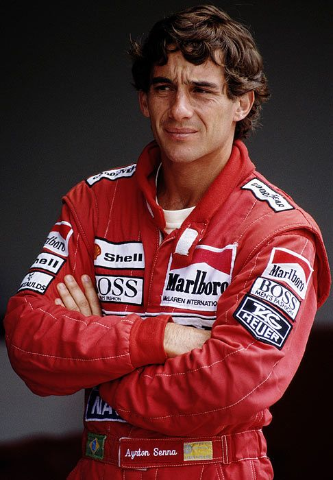 Ayrton Senna da Silva : 21 March 1960 – 1 May 1994) was a Brazilian racing driver and businessman, who won three Formula One world championships.   He died in a crash at Tamburello corner while leading the 1994 San Marino Grand Prix and is the most recent driver to die while competing in Formula One. Tkanks his job - I love this sport.